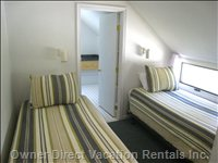 Assateague's Spinnaker Rental's  Twin Stateroom with in Suite Bath