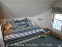 Great Water Views from Spinnaker's  Loft Twin Bed