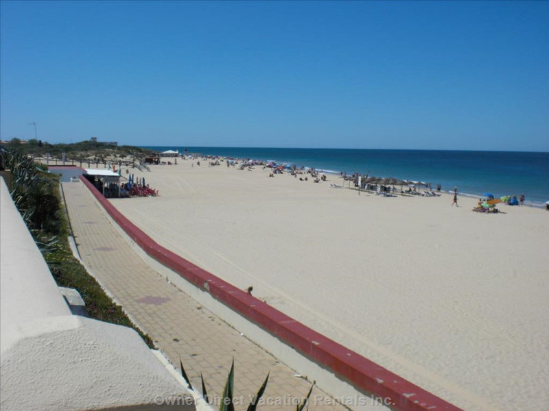 The camarón Beach, Just 5 Minutes Walk from the House.