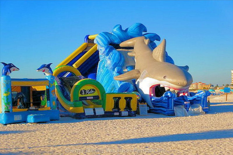 Inflatables on the Beach the Kids Will Love.