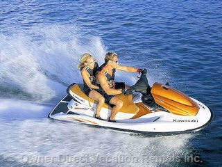 Jet Ski Rentals Available on the Beach.