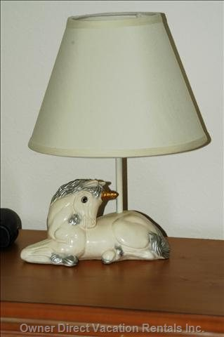 Kids Room, Unicorn Lamp