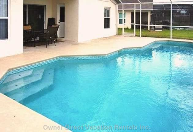 Huge Heated Pool with Extended Deck