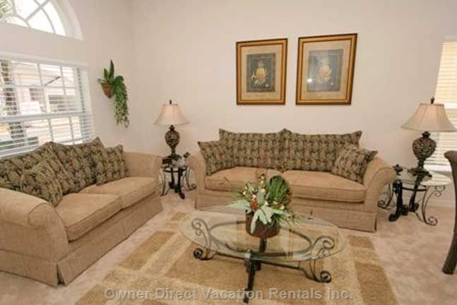 Formal Lounge Seating Area