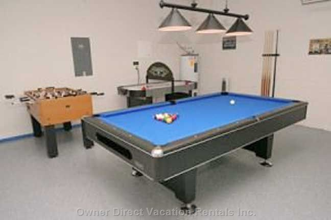 Professionally Equipped Games Room
