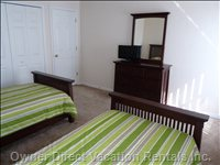 1st Twin Bedroom