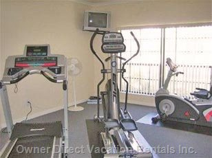 Resort Clubhouse Gym, Complementary for Villa Guests