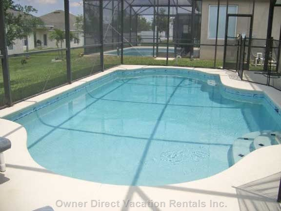 Large Fully Screened Pool