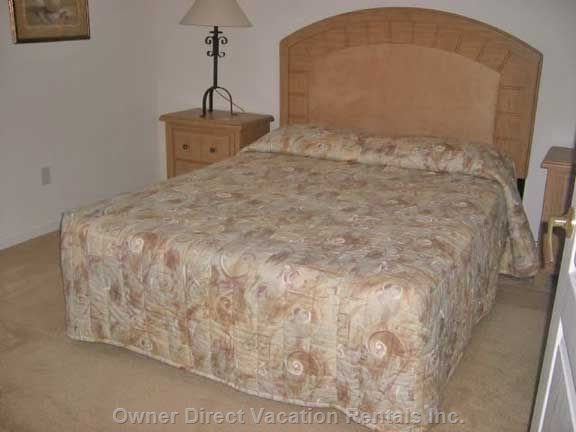 King Sized Bed with Ensuite.