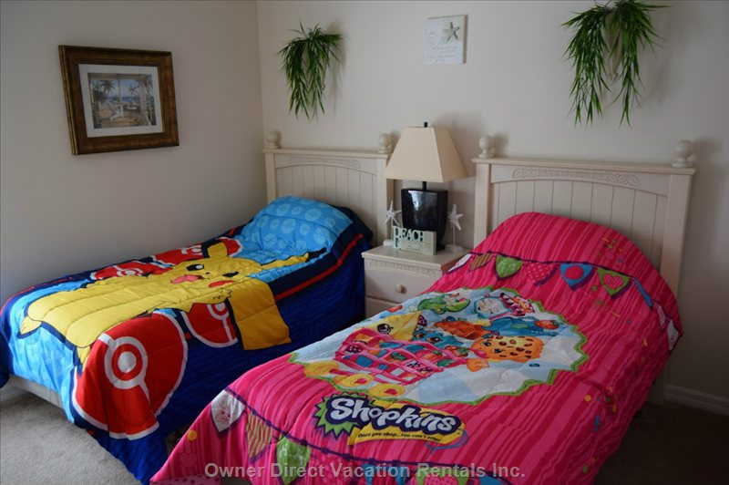 Twin Bedroom - Kids Set up