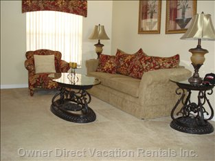 From the Moment you Enter the Front Door, you Will Notice the Tasteful Decor and Furnishings.
