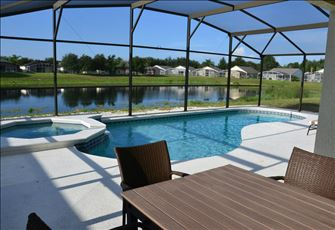 4br South Facing Pool Villa with Lake View and Gameroom