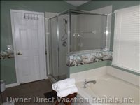 Master En Suite Bath and Spa Shower