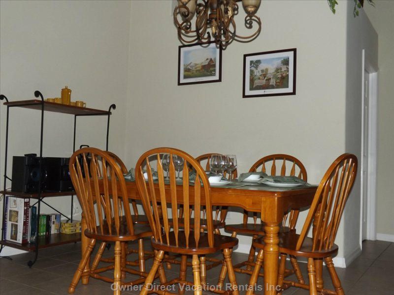 The Rustic Dining Room