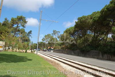 Surroundings (Colares Main Street to the Beaches- Typical Tram)