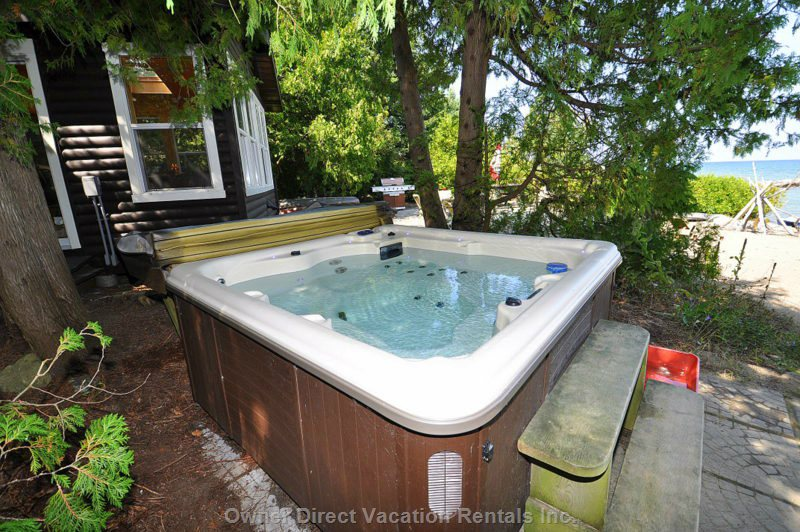 Your Private Hot Tub within Steps of Beach House