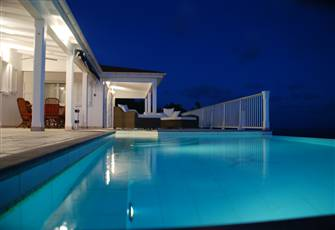 Private Villa Overlooks the Caribbean Sea Sunsets Pool & Spa - 2 Bedrooms