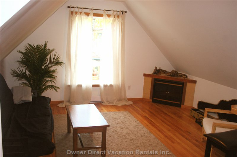 Cozy in Front of the Fire, Entertain with Board Games, Or Chill out with Free Wifi and Movies