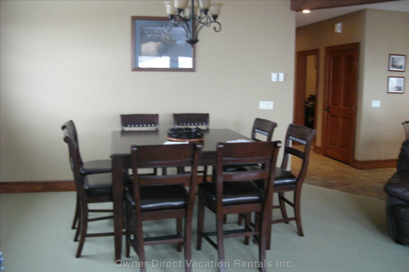 Dining Area Family Room
