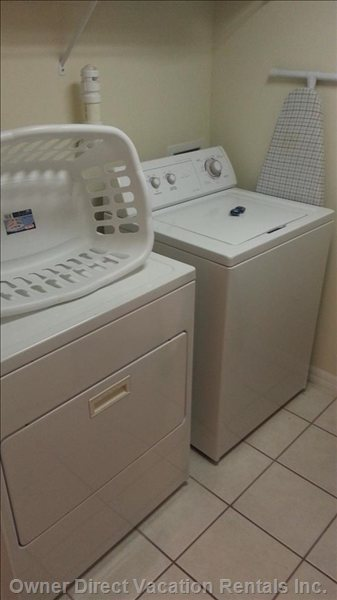 Laundry in House
