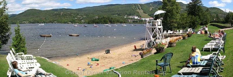 Condo for rent in mont tremblant owner direct for Lac miroir mont tremblant