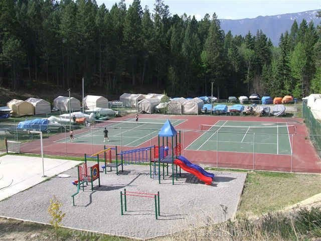 Tennis Courts and Playgroung