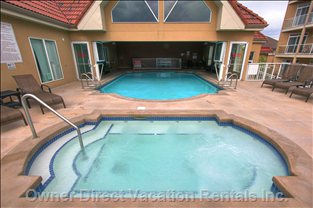 Indoor Outdoor Pool and Hot Tub - Year round Access