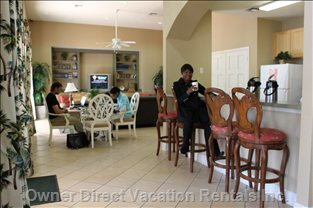 Wireless Room in Clubhouse - Lanai Adjacent for outside Seating for Wireless Laptops Also.