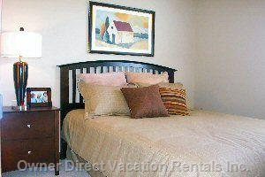 Spacious Second Bedroom with Queen Bed