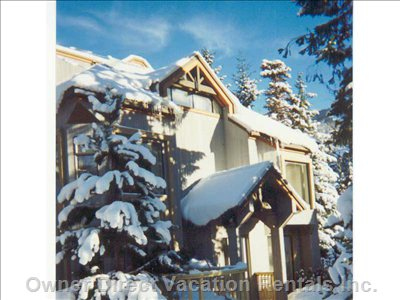 A Snowy Afternoon at the Gables, Whistler, Blackcomb