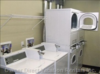 Shared Coin Laundry Room