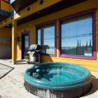 Your Hot Tub is Private and the Propane Bbq is Shared with the Upper Unit.