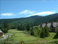 Chateau Whistler Golf - 1st Tee at your Door