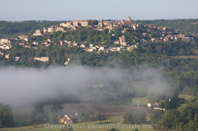 Local Town Cordes Sur Ciel, France's most Popular Village