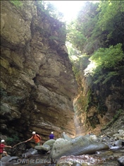 The Local Nature Reserve, the Orrido Di Botri Gorge is a Short Drive Away.