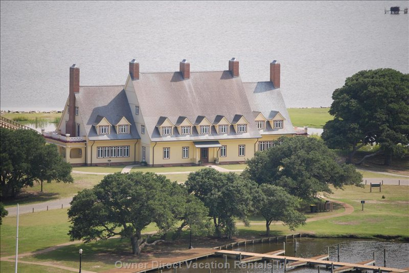 The Historic Whalehead Club is Open for Tours.
