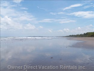 Playa Bejuco Beach Walk, Jog ,Stroll  and Discover                                        Sea Shells along this 4 - 6 Mile Beach....