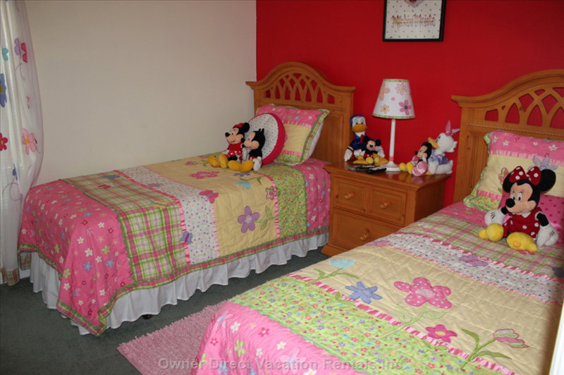Girl Twin Bed