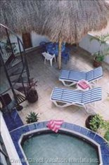 Private Terrace and Shady Palapa!