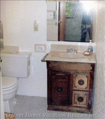 Bathroom, Upper Floor.