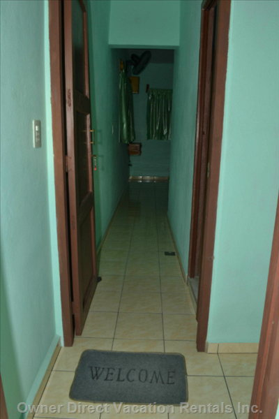Entrace to Bedroom