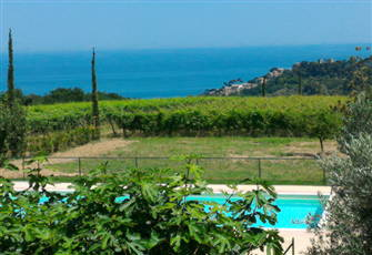 Beautiful Villa, Garden, Pool, Seawiew, hilltop.5 Min Drive to the Beach, Marche