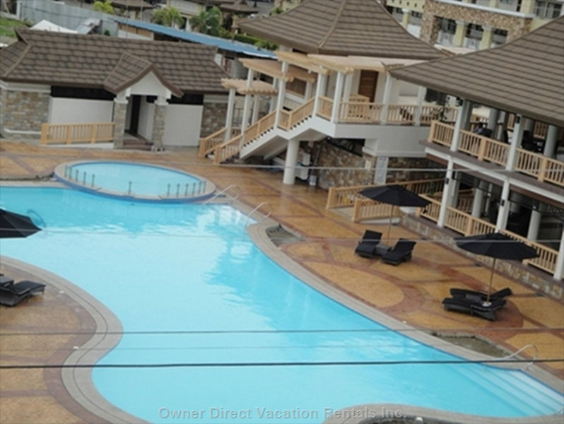 Large Pool, Kiddie Pool and Clubhouse