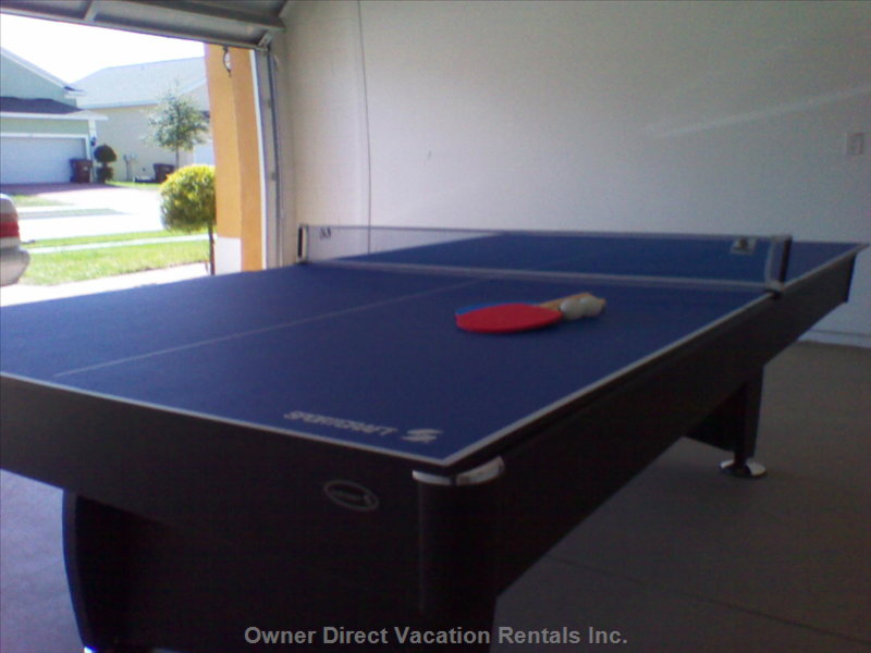 Game Room, Table Tennis