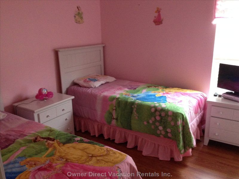 Princess Twin Room with Tv