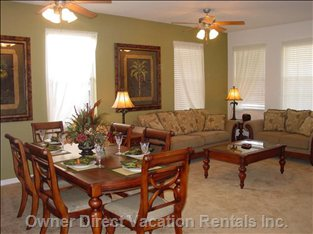 Formal Dining and Sitting Area
