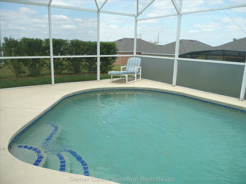 Enjoy a Swim Day Or Night in our 30x15 Pool with Extended Deck.
