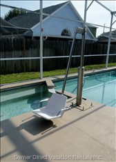 Hydraulic Lift for Pool & Spa