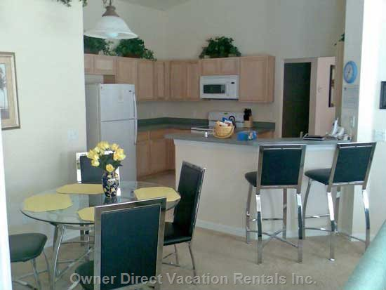 This Kitchen is Designed to a Very High Standard and has Every Single Cooking Appliance and Utensils for you to Use.