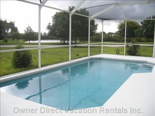 Large Pool Not Overlooked at Rear